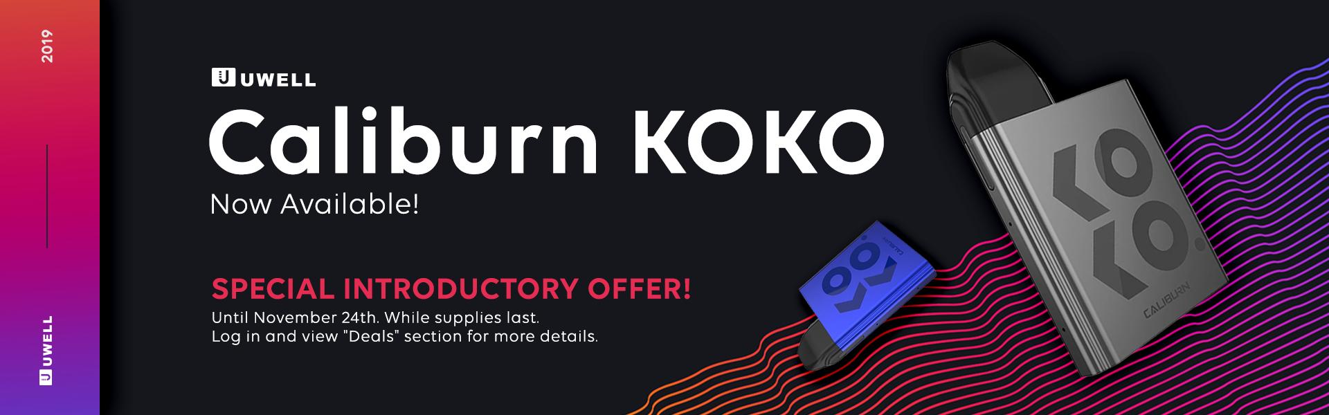 Uwell Caliburn KOKO Kit Now Available