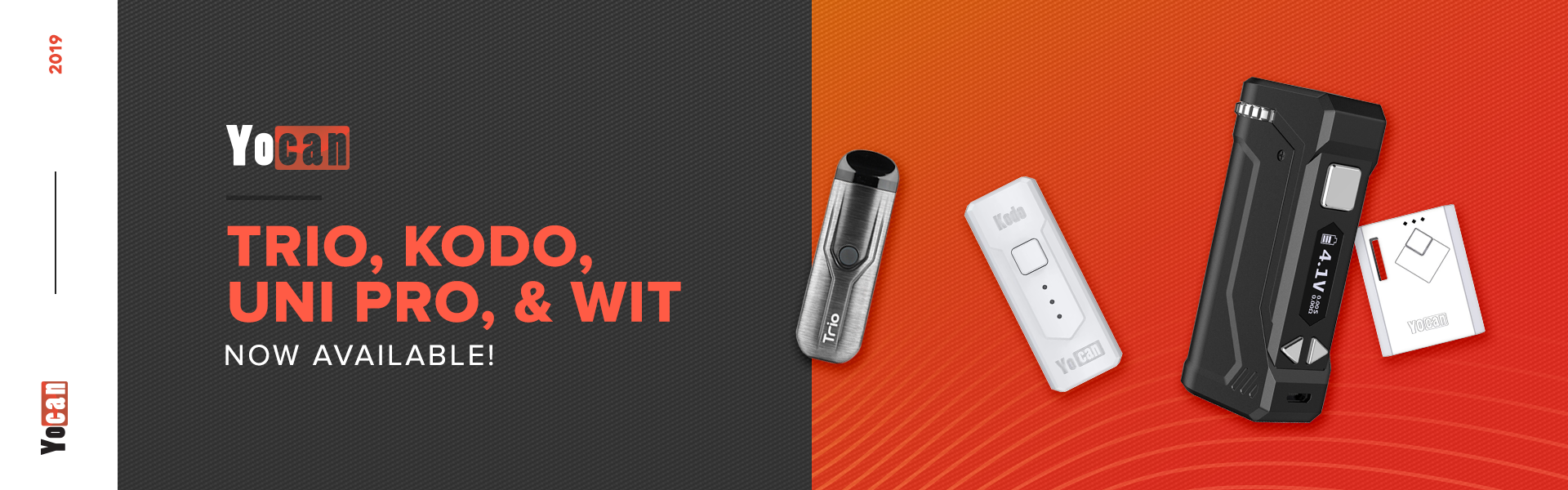 Yocan Trio Kodo Wit and UNI Pro Now Available