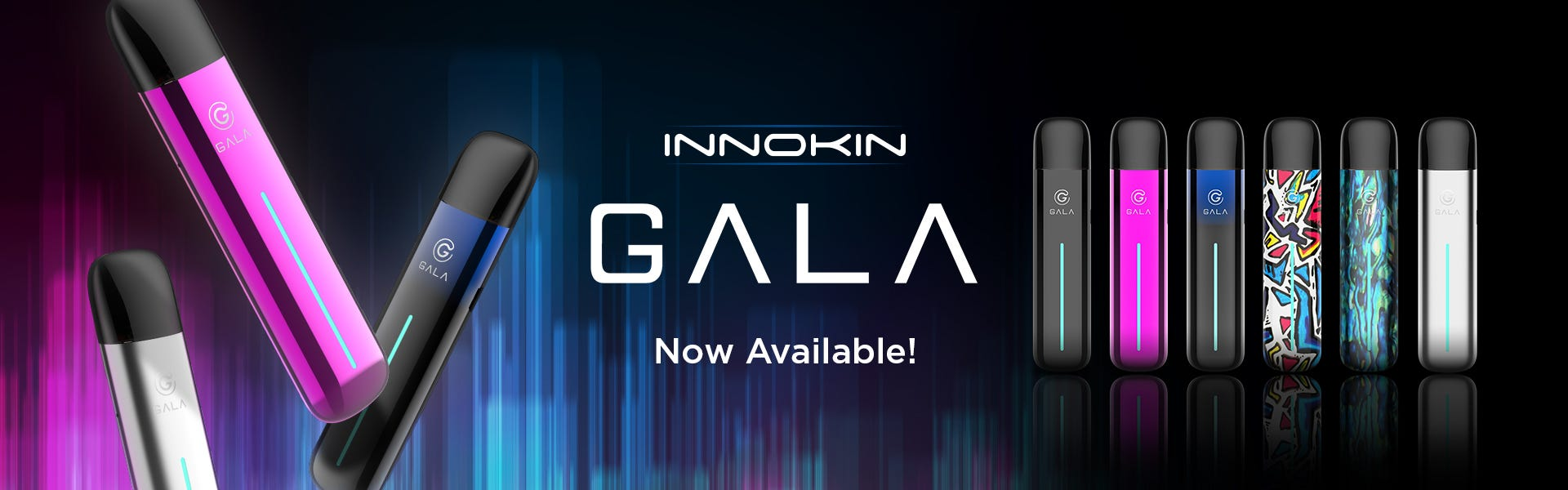 Gala vape pod system by INNOKIN is now available