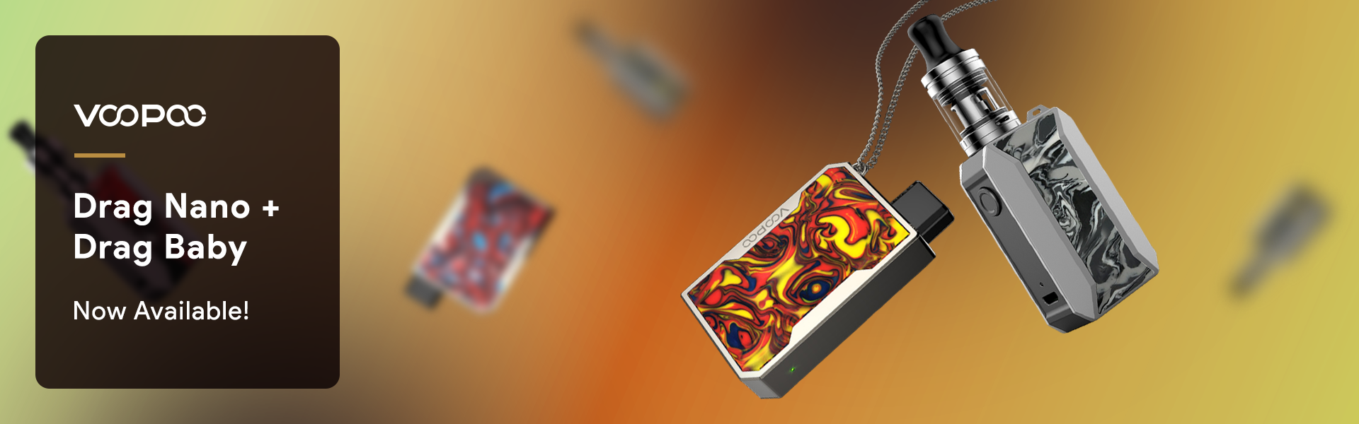 Voopoo Nano and Baby are now available to buy wholesale at Pacific Smoke